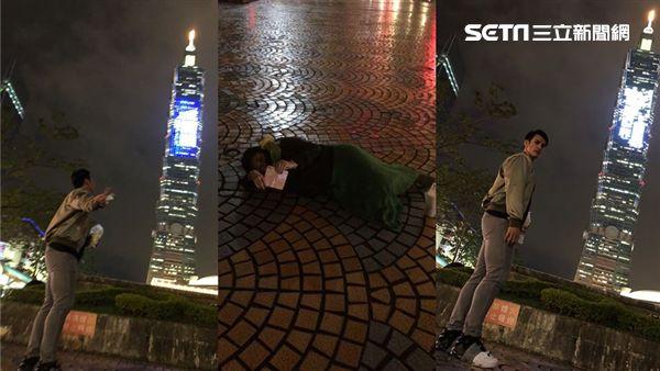 臉書,旅日球星,陽岱鋼,老婆,台北101,手機,拍照