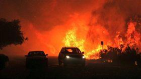美國,南加州,野火/翻攝推特