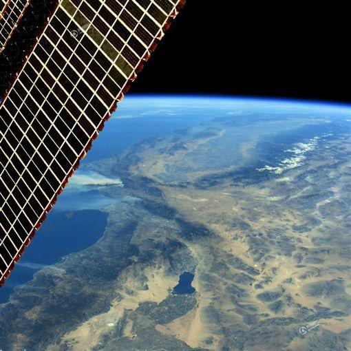 美國,南加州,野火,國際空間站,外太空(圖/翻攝自騰訊新聞)