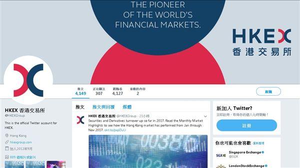 HKEX香港交易所_推特