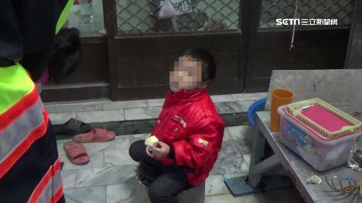 三歲童獨走街頭哭找媽 暖警挨家挨戶送回家