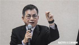 國民黨立委賴士葆於國防及外交委員會質詢 圖/記者林敬旻攝