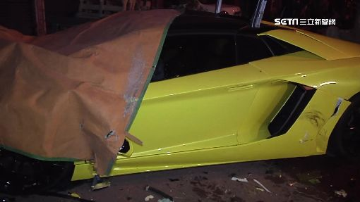 疑茶行老闆找人頭買車 撞毀慘賠1800萬
