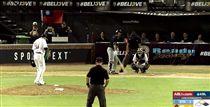▲中信兄弟前投手陳鴻文在澳洲職棒對決蔣智賢。(圖/截自網路)