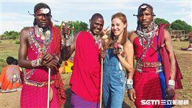 書那娜非洲拍外景節目/微風國際提供