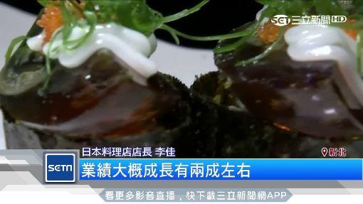 炸彈壽司「烤皮蛋」炙燒甜焦糖 業績增2成