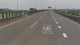 桃園平鎮區快速路三段台66線。(圖/翻攝Google Map)
