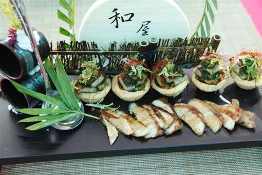 松阪豬塔青醬燒。(中華餐旅協會提供) ID-1170593