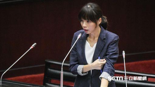 時代力量立委洪慈庸 圖/記者林敬旻攝