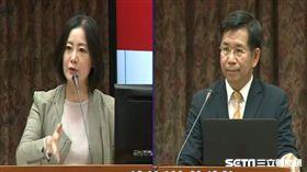 綠委吳思瑤提醒教育部長潘文忠對於促轉強調是對話過程。圖/截取立院轉播系統
