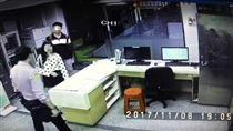 世心女大生遭學長砍,兩人曾一起去警局 圖/翻攝畫面