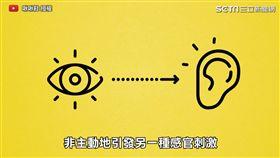 視覺連接聽覺的感官刺激