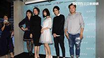 網路劇《第一次》舉辦首映會,主要演員曹婕妤、黃禮豐、柯淑勤、王彩樺出席宣傳