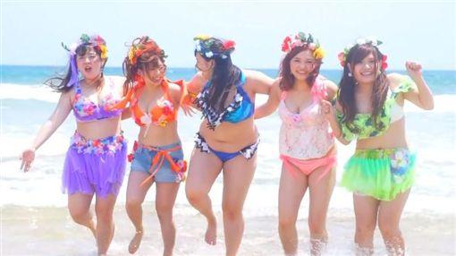 日本,女團,偶像,解散,Pottya,棉花糖,豐滿(圖/翻攝自YouTube)