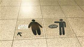 電扶梯,樓梯,標誌,胖子,瘦子,歧視(Reddit)