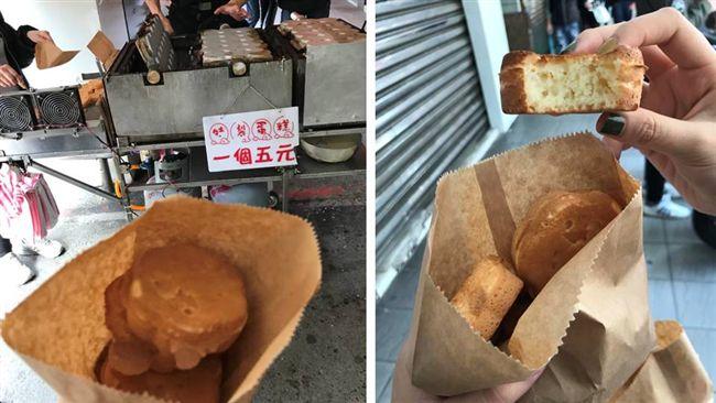 不是美食沙漠!1個只要5元 新竹人激推「梅花雞蛋糕」 | 生活