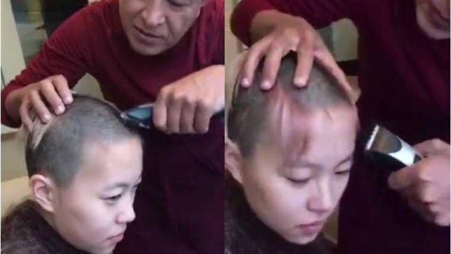王菲女兒竇靖童傳出家 剃髮影片曝光