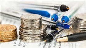 錢幣,硬幣,貨幣,錢,銅板,經濟(圖/Pixabay)