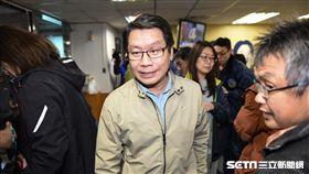 新北市議員沈發惠表達反對罷昌立場。 圖/記者林敬旻攝