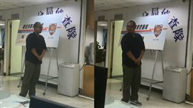 新北市海山警分局偵查隊偵查佐蕭富仁疑因重感冒病逝租屋處,年僅29歲。(圖/翻攝畫面)