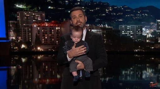 Jimmy Kimmel,吉米金莫,脫口秀,哽咽(圖/翻攝YouTube)