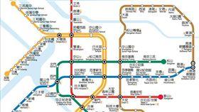 2014年版捷運路線圖(含松山線)/台北捷運公司