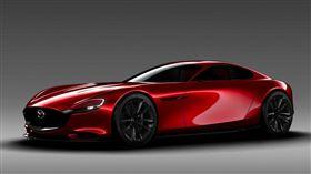 長車頭短車尾的絕佳比例,展現跑車最優美的輪廓。(圖/Mazda提供)