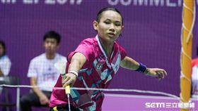 0825世大運羽球團體賽女單戴資穎 圖/記者林敬旻攝