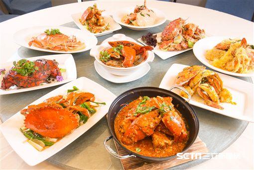新加坡美食,珍寶海鮮,辣椒螃蟹,螃蟹料理。(圖/和興餐飲提供)