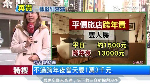平價旅店跨年貴!單晚萬元「最高漲破5倍」