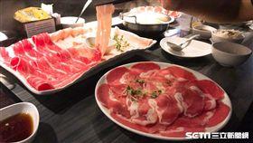 火鍋,肉片/記者李慈音攝