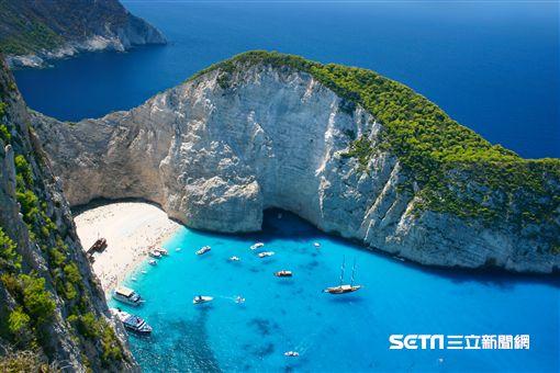 希臘,沈船灣。(圖/Tripresso旅遊咖提供)