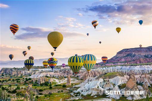 土耳其,熱氣球。(圖/Tripresso旅遊咖提供)