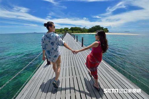 馬來西亞,海龜島。(圖/馬觀局提供)