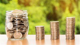 存款,利息,存錢,硬幣,圖/翻攝自Pixabay