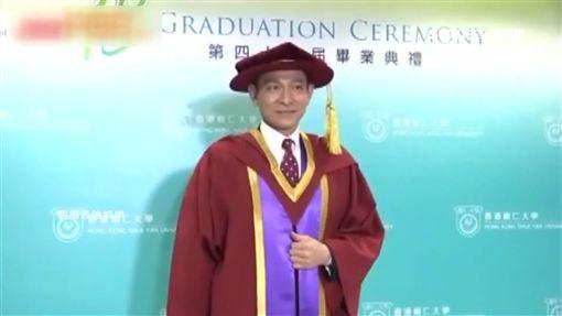 劉德華獲頒榮譽博士 7字感言帥爆
