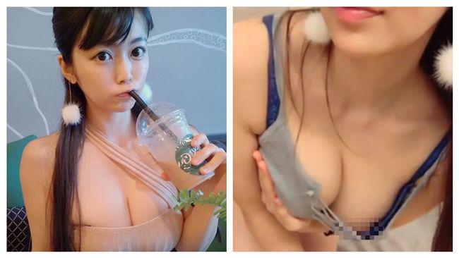 H奶寫真女星穿小背心開直播 一彎腰…胸前點點見客了 | 娛樂星聞
