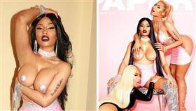 妮姬米娜,Nicki Minaj,性感,上空,露奶,火辣,粉紅歌姬,嘻哈 (圖/翻攝自IG)