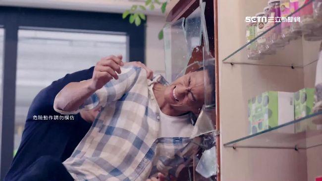 《已讀》鍾承翰遇劫 衰遭扭打撞玻璃