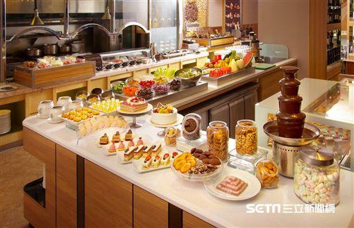 飯店,耶誕市集, 吃到飽。