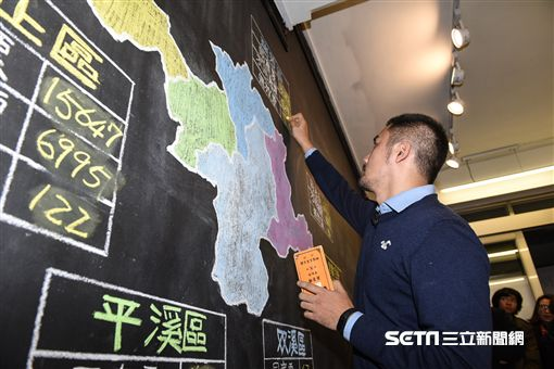 黃國昌罷免投票,黃國昌汐止服務處計票情形 圖/記者林敬旻攝