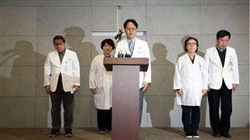 南韓梨花女子大學醫學中心發生嬰兒連續死亡事件。(圖/翻攝自韓國先驅報)