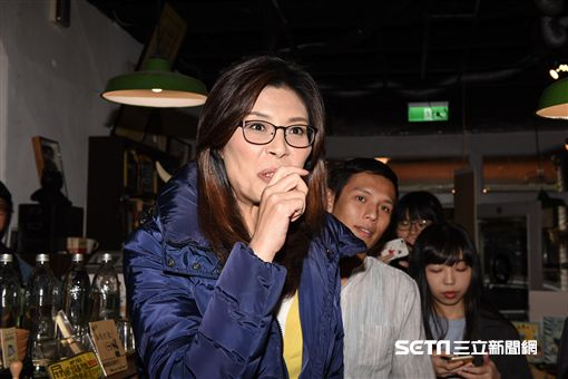 國民黨台北市長擬參選人鄭麗文宣布參選。 圖/記者林敬旻攝