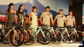 胡金龍出席自行車新品發表會。(圖/記者王怡翔攝)