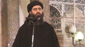 伊斯蘭國(IS)首腦巴格達迪(Abu Bakr al-Baghdadi)_土耳其《葉尼沙法克報》(Yeni Safak)http://www.yenisafak.com/en/world/us-trains-daesh-terrorists-in-syria-to-form-army-2890792