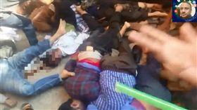 孟加拉,踩踏意外,死傷(圖/翻攝自YouTube)