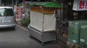 萬華善心老闆「刈包吉」廖榮吉攤車(圖/Google地圖)