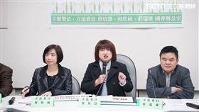 蔡培慧、何欣純、莊瑞雄農保記者會 圖/記者林敬旻攝