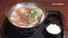 小龍蝦鍋燒1800