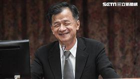 法務部長邱太三於司法及法制委員會備詢。 圖/記者林敬旻攝